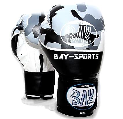 Weitere Sportarten Boxhandschuhe 10 unze PU Boxhandschuhe Muay Thai Boxing MMA Kickboxen Training