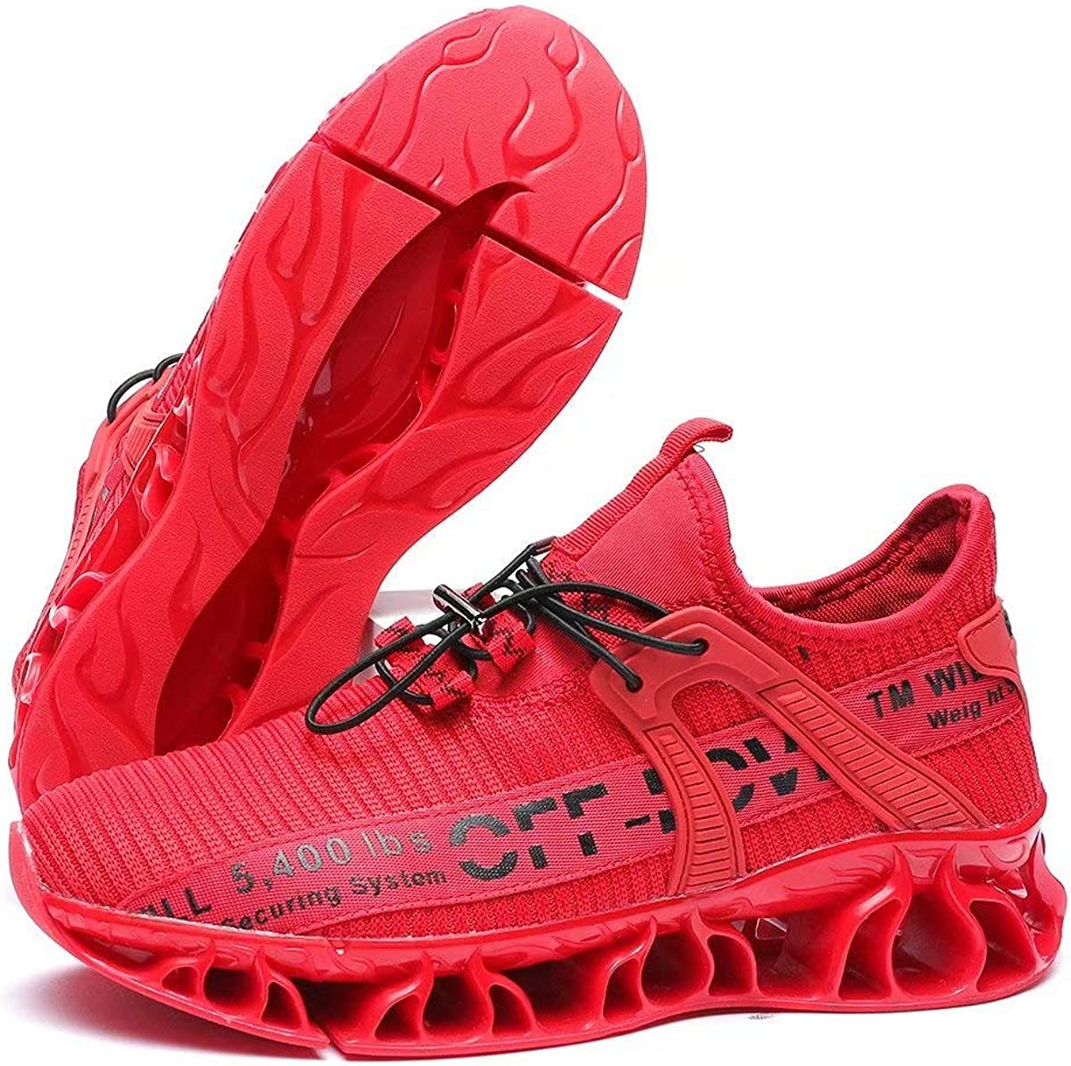 Kapsen Fashion Sneakers Mens Running Shoes Non Slip Athletic Blade Shoes for Men Trainers Sport Shoes