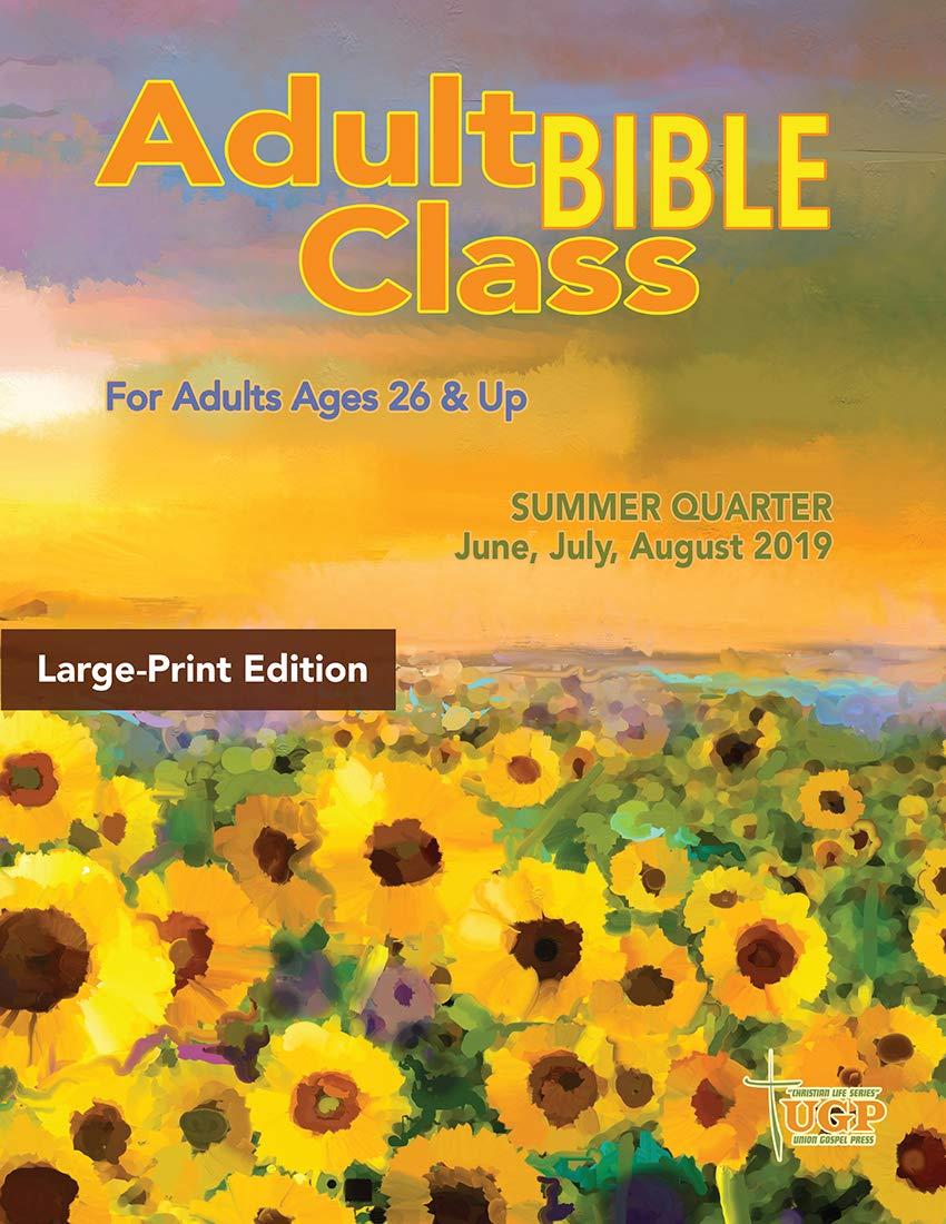 Amazon com : Union Gospel Press Adult Bible Class Large Print