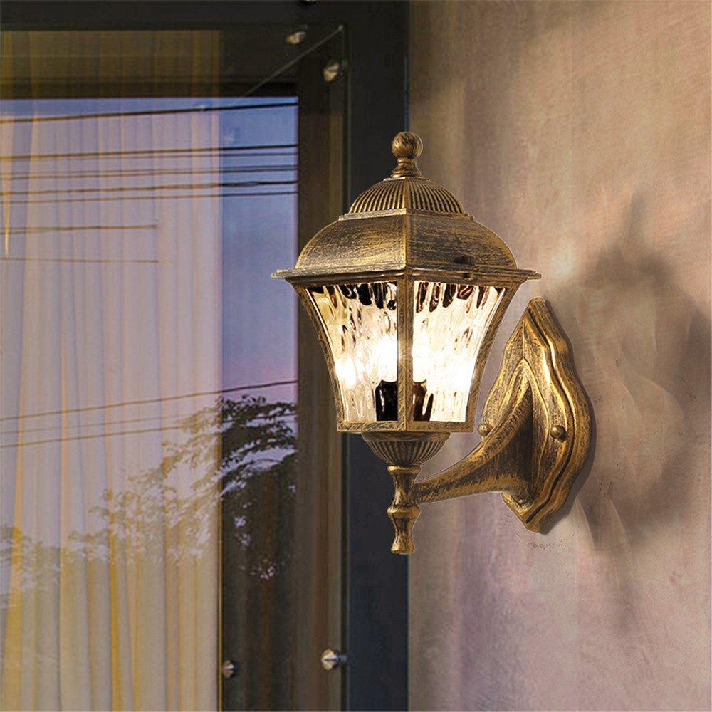 DengWu lampada da parete Continental corridoio lampade luci retro giardino esterno luci da parete light bar cafe lounge impermeabile minimalista luci da parete