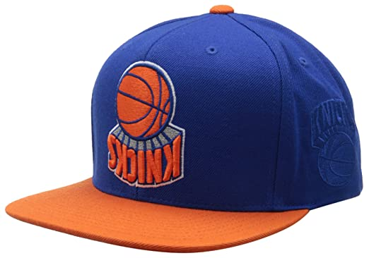 3a952342f0a Hall Of Fame Men s X Mitchell and Ness Ny Knicks Upside Down Snapback