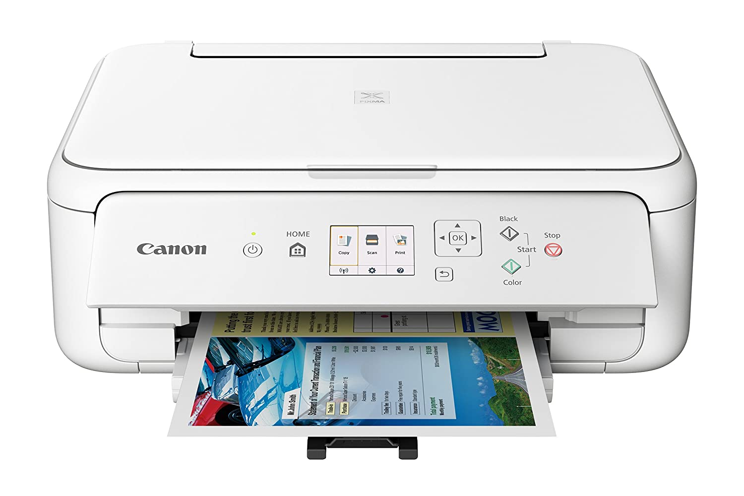 Canon TS5120 Wireless All-In-One Printer with Scanner and Copier: Mobile and Tablet Printing, with Airprint(TM) and Google Cloud Print compatible
