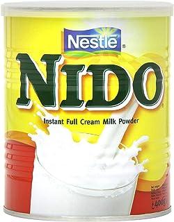 Nestlé Nido Leche en Polvo Entera - Crema Instantánea para Bebidas de Café y Té con