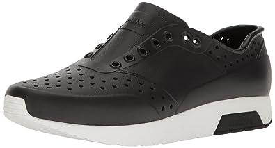 native Men's Lennox Water Shoe, Jiffy Black/Shell White, ...