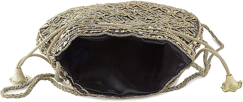 Wedding Women Purse Party Designer Bridal Clutch//Jewelry Pouch//Indian Evening Potli Handbag