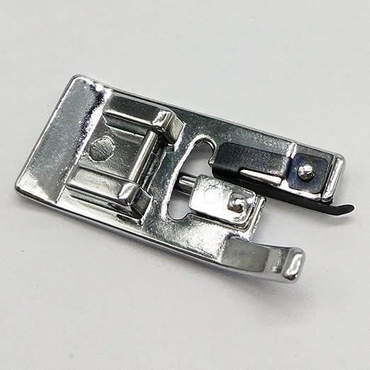 Pie de sobrehilado YICBOR para máquina de coser doméstica, pie de overlock #7310#006907008: Amazon.es: Hogar