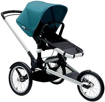 Amazon Com Bugaboo Runner Jogging Stroller Petrol Blue Baby