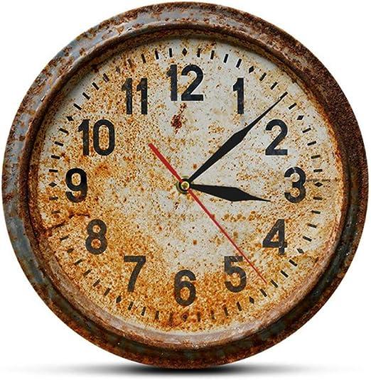 YZY Reloj De Jardín, Exterior Retro Nostalgia Reloj De Pared Impermeable Adorno De Jardín Vintage para Jardín para Jardín/Patio/Patio: Amazon.es: Hogar
