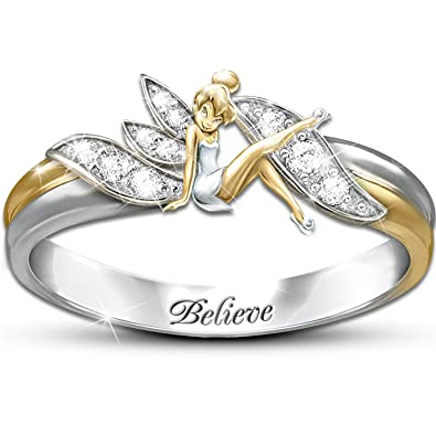 Amazoncom Embrace The Magic Tinker Bell Ring by The Bradford