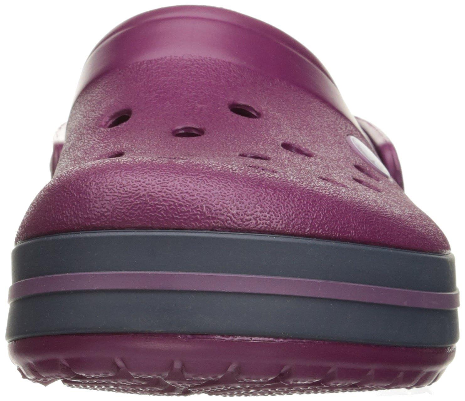 Crocs (Plum/Navy) Unisex-Erwachsene Crocband Clogs Violett (Plum/Navy) Crocs 96194c