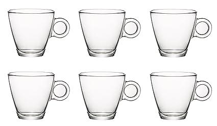 Endurecido 10 cl de cristal tazas del café express (3 ½ angelsharkseries)