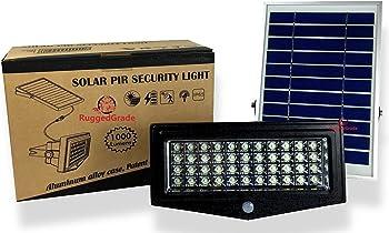 RuugedGrade Solar LED Flood Light