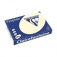 Clairefontaine 1242C Lot de 250 feuilles de papier Trophee A4 120 g/m² (Sable) (Import Allemagne)