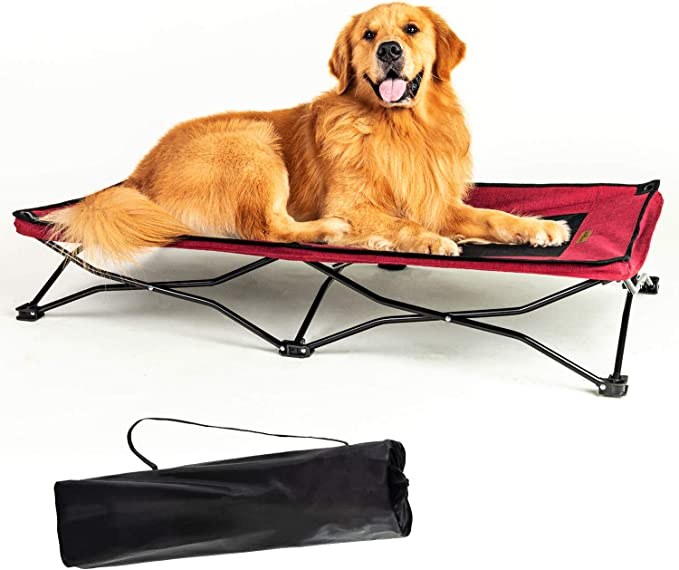 YEP HHO Large Elevated Folding Pet Cot Bed