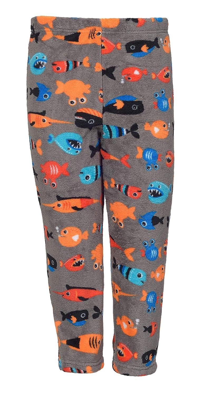 Jammiz Boys Polar Fleece 2-Pocket Printed Pajama Pants