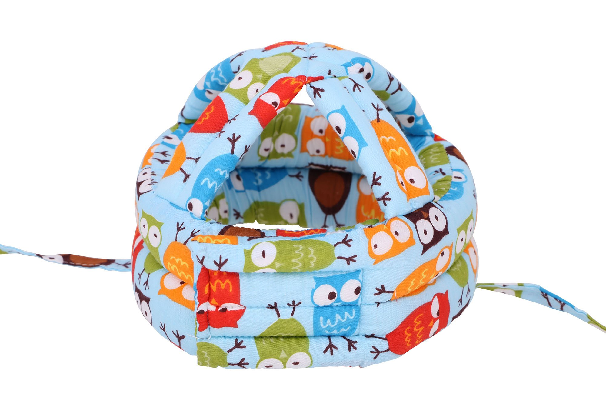 Simplicity Baby Safety Helmet Toddler Head Protection Cap Adjustable, Blue Owl