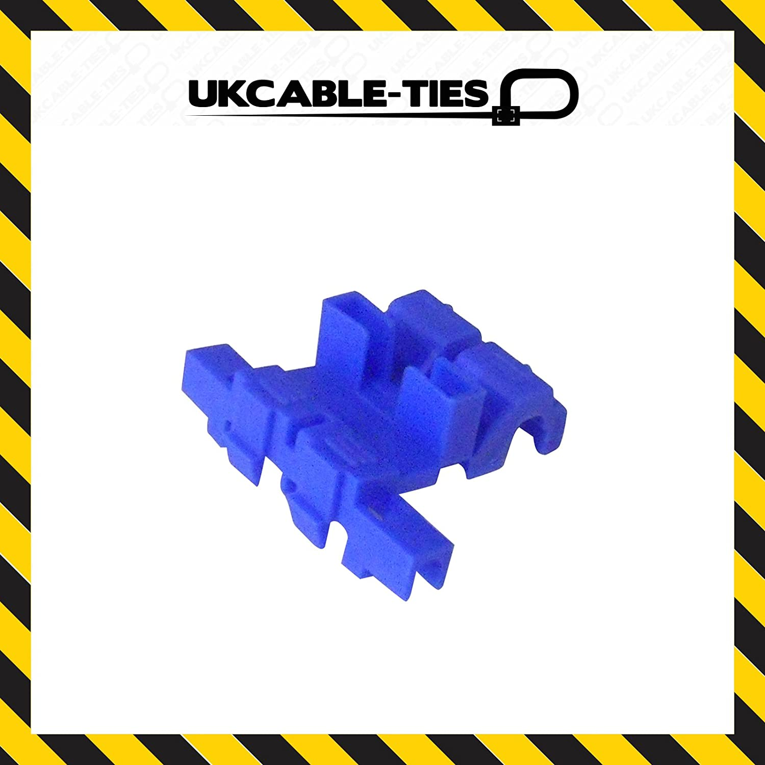 UKCable-Ties Self-Stripping Blade Fuse Holders - (Pack of 100)