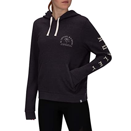 Nike W Hrly Combo Swells Perf Po Sudadera, Mujer, Oil Grey, XS