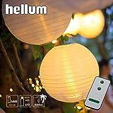 DRULINE 6er Set LED Papierlaterne Lampion Lampions Laterne