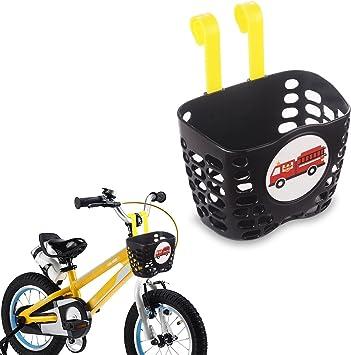 Mini-Factory Cesta de bicicleta para niños, diseño de dibujos ...
