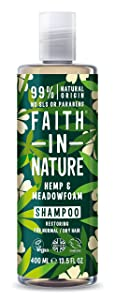 Faith In Nature Hemp & Meadofoam Shampoo 1 x 400ml