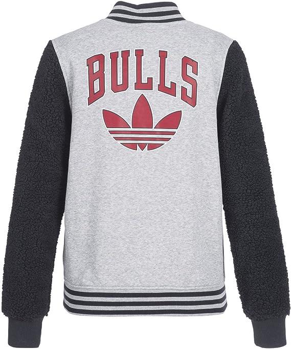 Adidas Bulls Varcity Jacke Sportjacke Damen Grau: