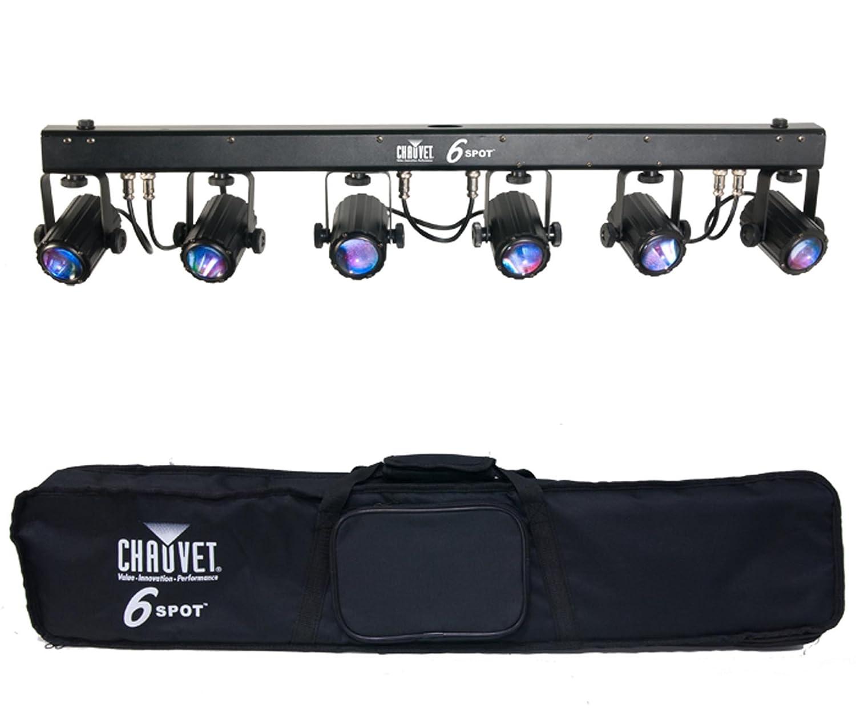 Amazon.com: CHAUVET 6SPOT 6 SPOT LED Effect Stage Light Bar System ...