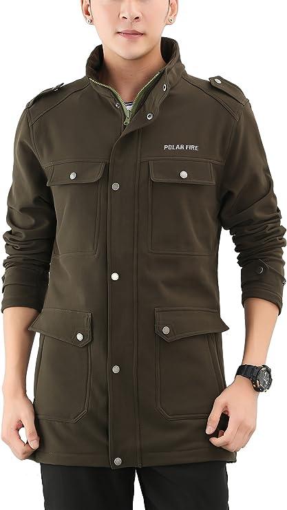 Manteaux et vestes verts à fermeture éclair pour homme | eBay