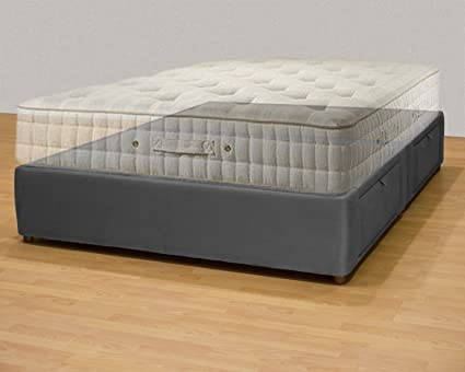Plataforma cama queen/king size cama de almacenamiento/tapizado ...