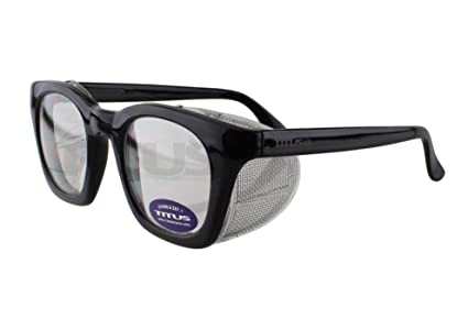 ae6f0648e65 Retro Style Safety Glasses with Side Shield (w o Pouch