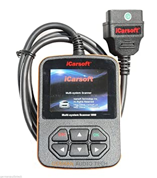 iCarsoft Compatible with Porsche Obd2 Diagnostic Code Scanner Fault Erase  Tool Equipment Carrera Turbo Panamera Boxster Cayman Cayenne 911 996 997