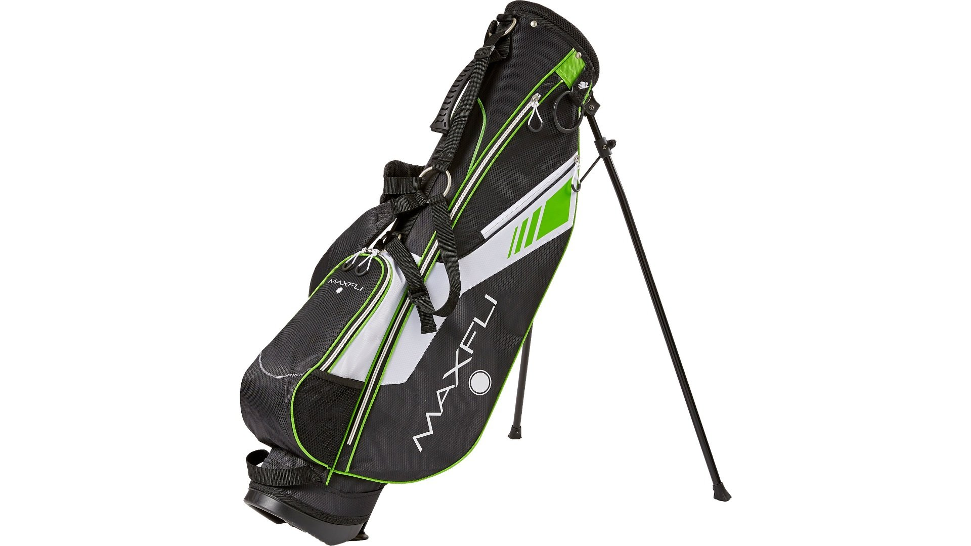 Maxfli Golf Sunday Stand Bag - Black/Green