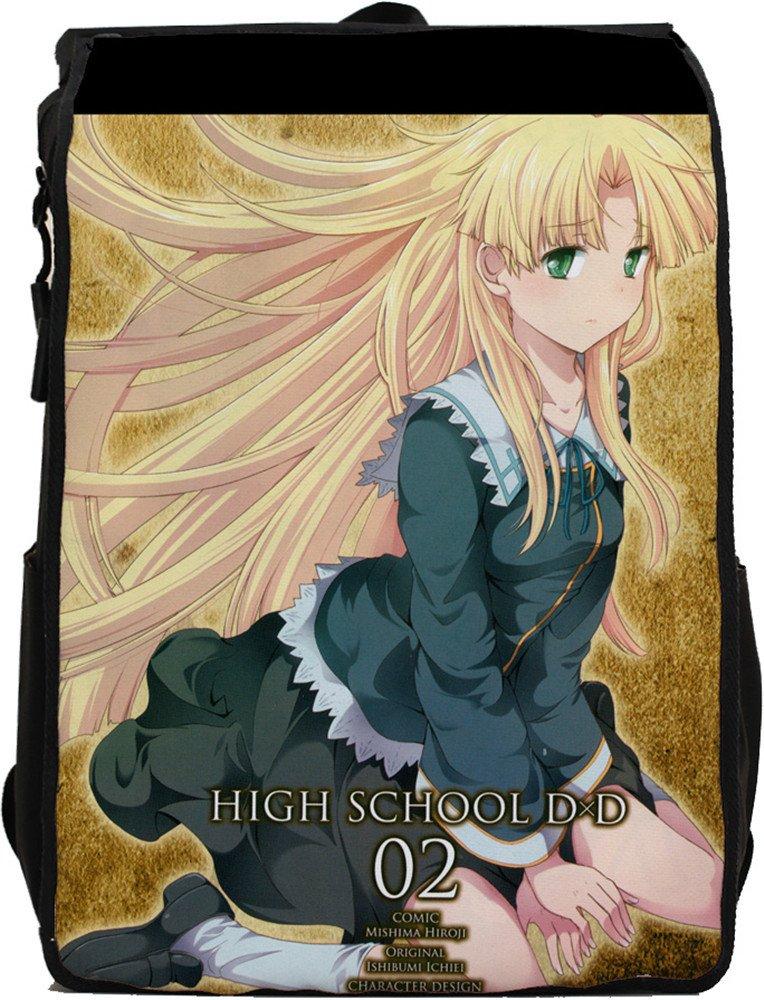 Siawasey High School DxDアニメコスプレキャンバスメッセンジャーバッグバックパックスクールバッグ   B015V2IIMI