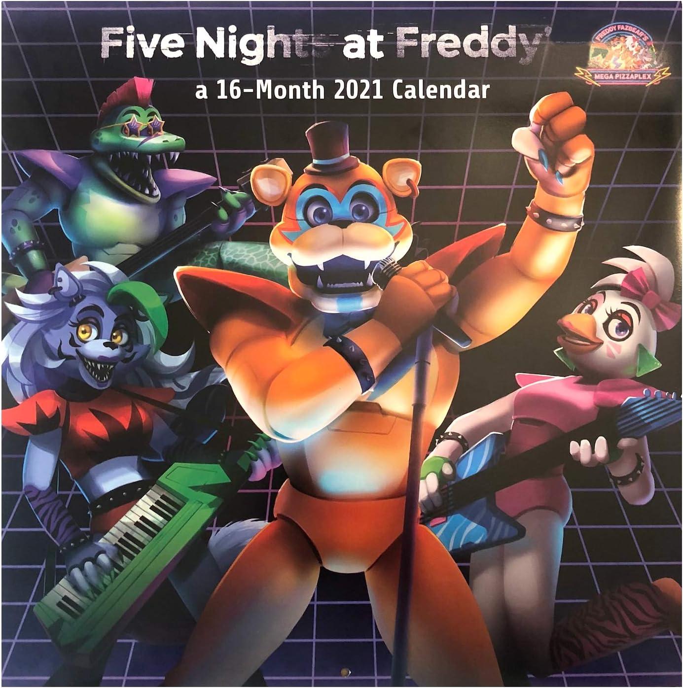 Photos of Five Nights At Freddys 2021 Calendar