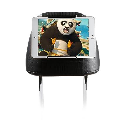 iPad Mini//iPad Pro//iPad Air//Samsung Galaxy Tab S Adjustable Holding Clamp for Tablet S3 S2 TFY Universal Car Headrest Mount Holder with Angle Tab 4