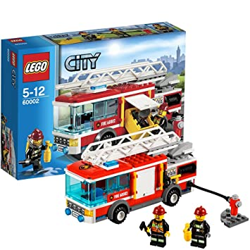 lego city 60002 fire truck - Lego City Pompier