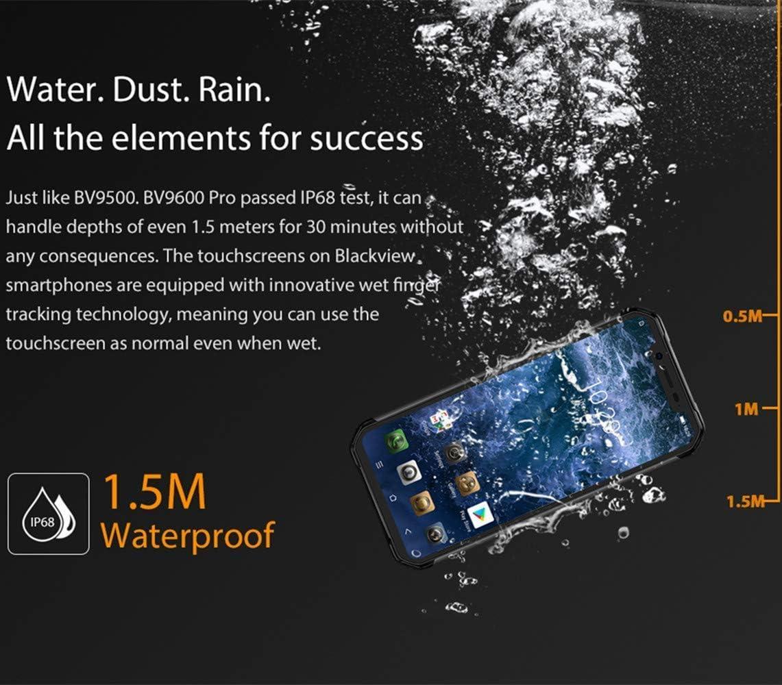 Blackview BV9600 Pro Rugged Phone,Helio P60 AI Procesador,6.2119 ...