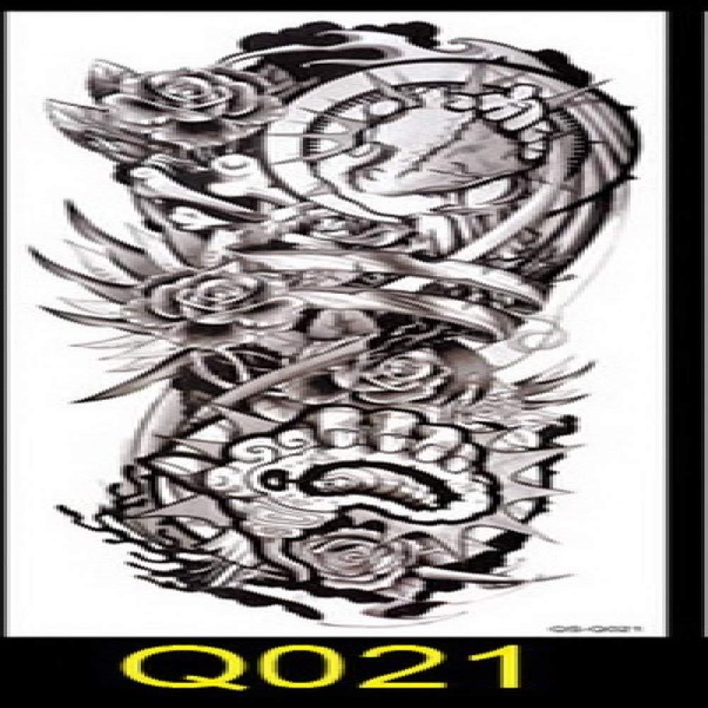 Handaxian 3pcsNew Completo Etiqueta engomada del Tatuaje del Brazo ...