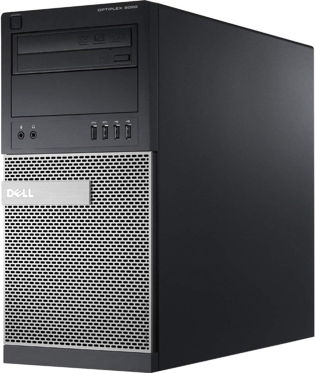 Dell OptiPlex 9020 High Performance Business Desktop Compute: Intel Quad-Core i7-4790 up to 4.0GHz/ 8GB RAM/ 320GB HDD/DVD-RW/WiFi/USB 3.0/ Windows 10 Professional OS(Renewed)