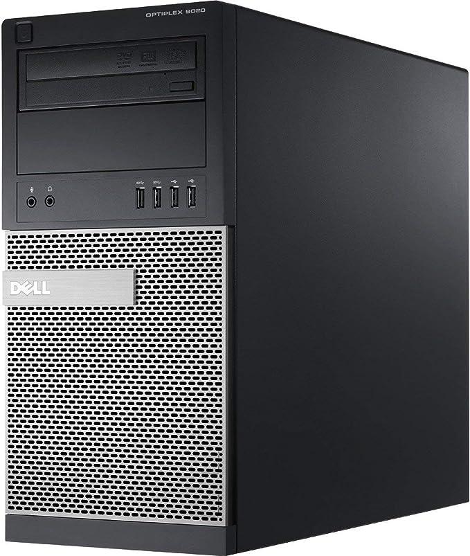 Dell OptiPlex 9020 High Performance Business Desktop Compute: Intel Quad-Core i7-4790 up to 4.0GHz/ 8GB RAM/ 128GB SSD/DVD-RW/WiFi/USB 3.0/ Windows 10 Professional OS(Renewed)   Amazon