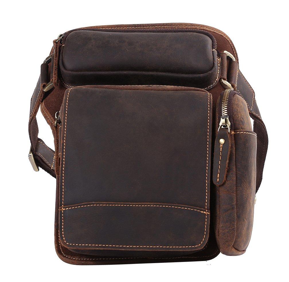 Genda 2Archer Mini Fashion Leather Drop Leg Bag Casual Tactical Waist Bag