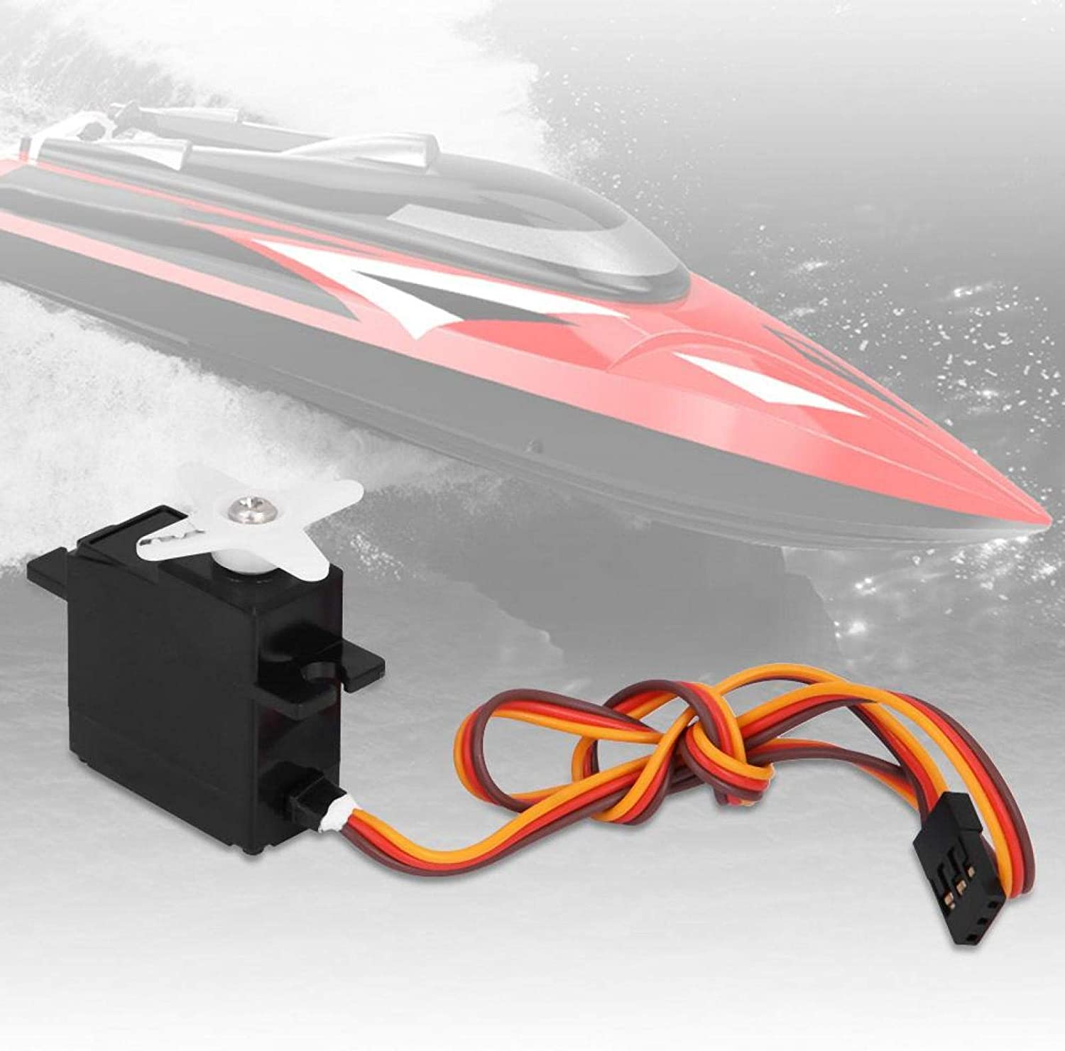Wltoys Swing Arm Car Steering Engine Micro Servo Kit Servo Accessory,for FT012 Brushless Remote Control RC Boat