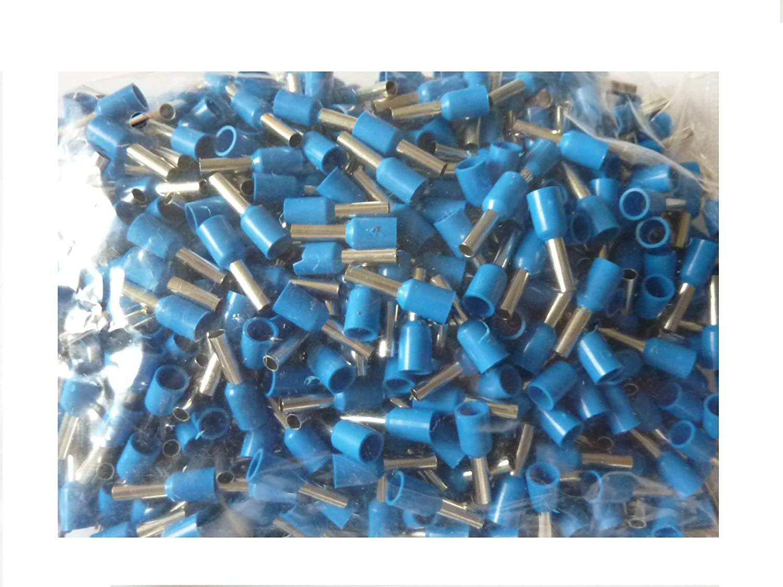 500 Stück SK-DV Aderendhülsen 2, 5mm² x 8 mm blau
