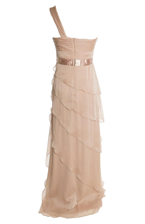 Adrianna Papell Womens Chiffon Tiered Semi-Formal Dress at Amazon ...
