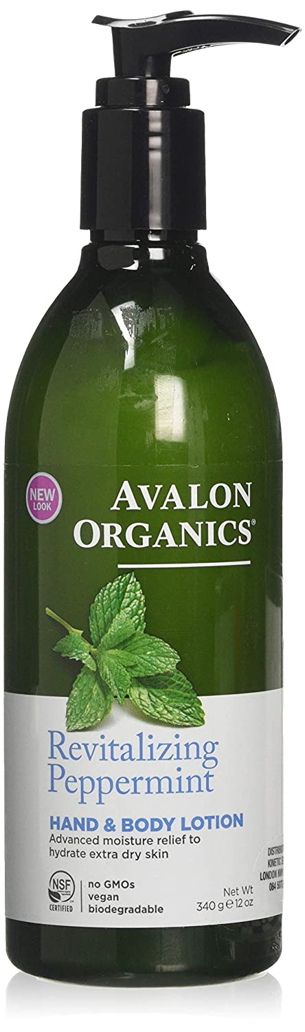 Avalon Organics RevitalizingPeppermint, Pack of 1