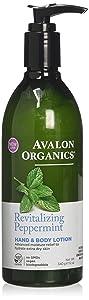 Avalon Organics RevitalizingPeppermint, Pack of 1