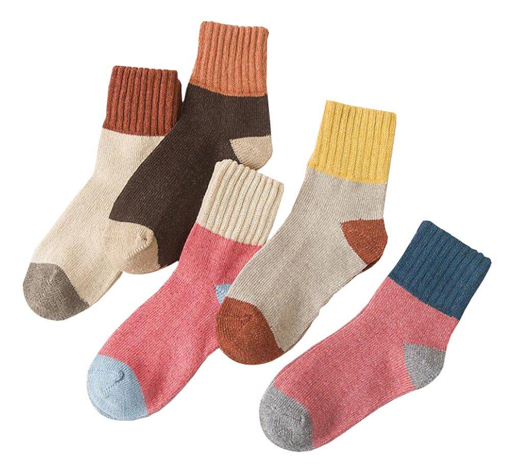 Frauen Casual Crew Socken 5 Paar Black Temptation