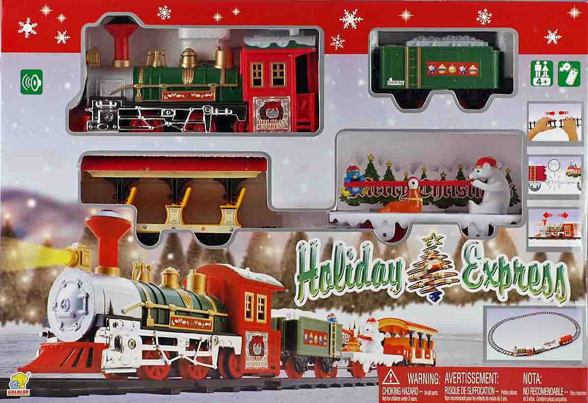 Toy Trains And Christmas : Best seller christmas holiday express festive train set