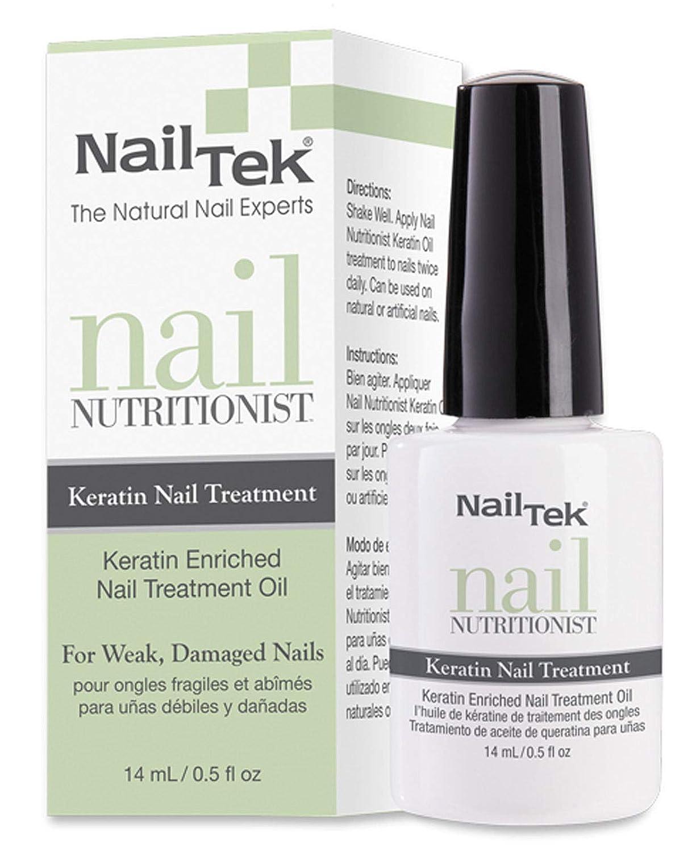 Nail Tek Treatments - Nail Nutritionist Keratin - 0.5oz / 14ml