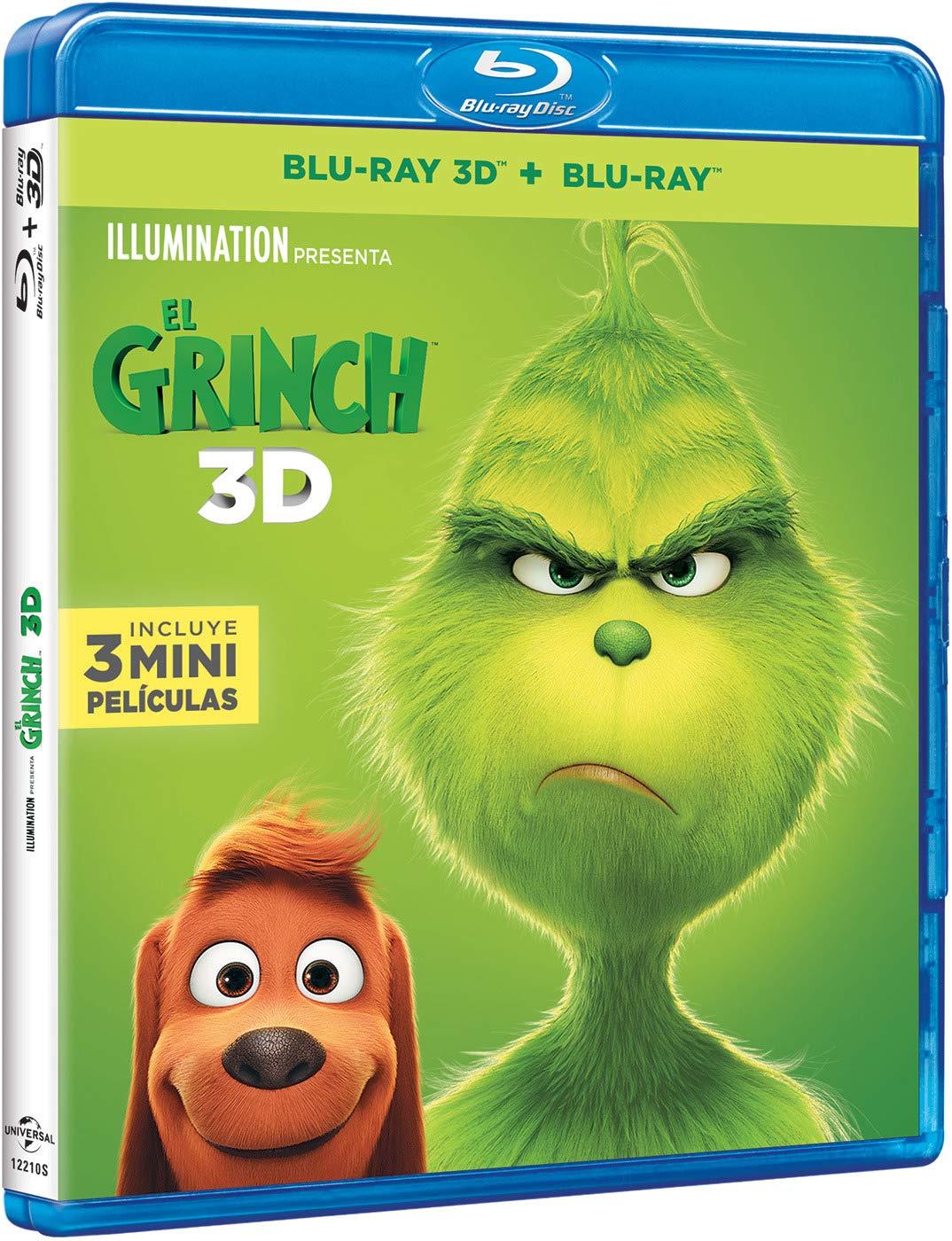 Imagenes De Grinch De Buenos Dias.El Grinch Bd 3d Bd Blu Ray Amazon Es Benedict